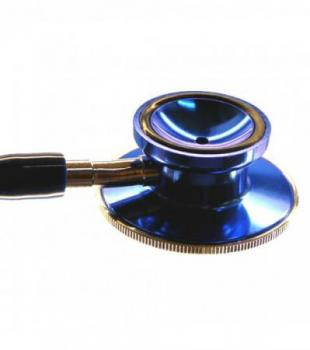 Stethoscope double chest piece