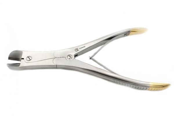 Wire cutting pliers TC 23 cm straight with carbide insert