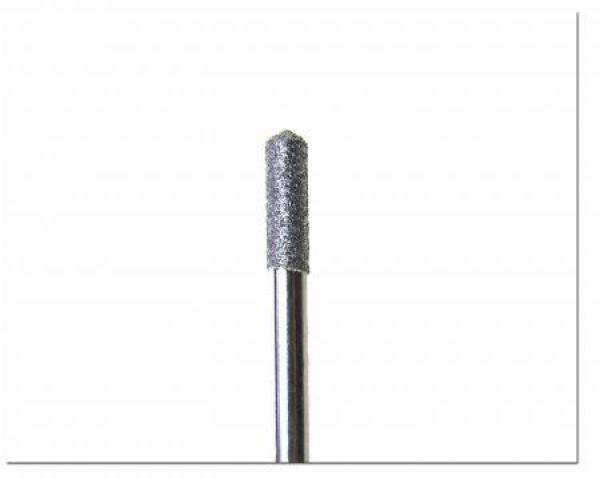 Diamond rotation instrument cylindrical / rounded