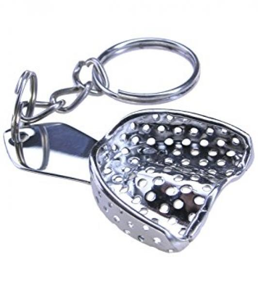 Keychain impression tray
